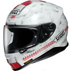 Shoei NXR Terminus TC1 - White/Red - PLUS 3 FREE GIFTS WORTH £50.00