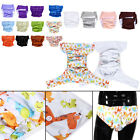 17 Colors Waterproof Teen Adult Cloth Diaper Nappy Pants For Bedwetting Js