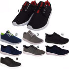 New Mens Boys Sports Gym Running Fitness Lace Up Casual Trainers Shoes Sizes Uk