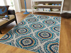 Kyпить Blue Modern Large Area Rugs 8x10 Carpet Contemporary Rug 5x7 Hallway Runner 2x8 на еВаy.соm