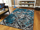 Kyпить Blue Area Rug Modern Contemporary Abstract Carpet на еВаy.соm