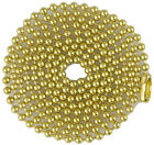 Brass Ball Chains for Military Dog Tags, Bag of 100