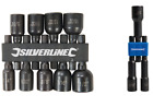 """Imperial Magnetic Nut Driver Set Adaptor 3Pce or 9Pce You Pick 1/4"""" 3/8"""" 1/2"""""""