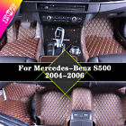 Yes Waterproof Car Mats Carpet Leather Y2R3 For Mercedes-Benz S500 2004-2006 New