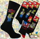 6 Mens THE SIMPSONS Cartoon Novelty 100% OFFICIAL Character Socks UK 6-11