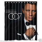 James Bond Custom Fabric Shower Curtain 60x72 Inch $40.55 CAD