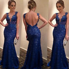 Women Sexy Long Evening Ball Prom Gown Formal Bridesmaid Party Cocktail Dress