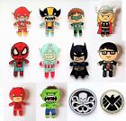 Acrylic Fun DC Marvel Superhero Pin Badge Brooch
