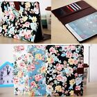 9.7'' Smart CARD Floral Flower Magnet Stand Case Cover For Apple iPad Air 2 Pro