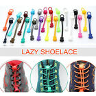 2Pcs Elastic No-Tie Locking Shoelaces Shoe Laces with Buckles for Sport Shoes
