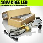 40W Cree Led Light For Auto Car Truck Headlight Headlamp Kit Replace Conversion
