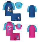 Boys Swim Swimsuit UPF50+ Rash Guard 3pcs Shark Pattern Bathers Costume Deach