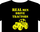 Tractor T Shirt up to 5XL real men John Deere Massey Ferguson, Zetor, farm book