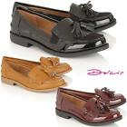 New Ladies Womens Faux Leather Deck Casual Boat Moccasins Loafers Driving Shoes