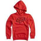 Fox Racing Boys Legacy Logo Fleece Hoody - Flame Red