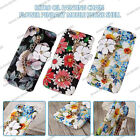 Retro Flower Painting Metal Chain Pendant Case Cover For Apple iPhone 6S 7 Plus