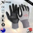 Cut Resistant Work Gloves Level 5 Nitrile Super Shield Safety Gloves 12 Pairs