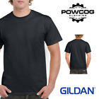 GILDAN MENS Heavy Cotton Plain Short Sleeve T Shirt | 45 COLOURS | BEST SELLER