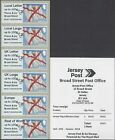 GB 2017 POST & GO SOUTHERN ENGLAND STAMP SHOW JERSEY SHELLS JERSEY CREST