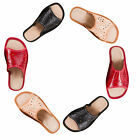 Women`s/Ladies Slippers Natural Leather size: UK 3,4,5,6,7,8 in Cream/Red/Black