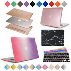 New Smart Rubberized Hardshell Case Cover + Free Keyboard Skin for Apple MacBook
