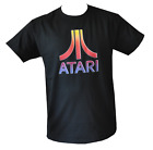 T SHIRT ATARI VIDEO GAME MENS BLACK ALL SIZES S TO 3XL FREE POST AUSTRALIA NERD