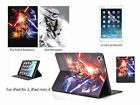 Star Wars PU Leather Flip Stand Cover Case for iPad Air 2, iPad mini 4 $3.75 AUD on eBay