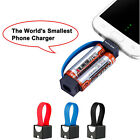 Mini Portable Micro USB Charger Cable Smallest Power Charger for Samsung Android