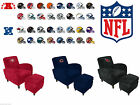 NFL Officially Licensed Den Chair & Ottoman - AFC & NFC Teams - Free Shipping! $399.0 USD on eBay