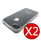 Buy 1 get 2, iPhone 4S 4 Case, Clear Flexible Silicone TPU Gel Cover for Apple