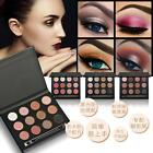 12-Colors Shimmer Matte Eyeshadow Palette Kit Eye Shadow Makeup Pallette Set