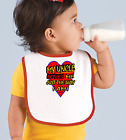 Rabbit Skins Infant Cotton Snap Bib My Uncle Loves Me Just The Way I Am
