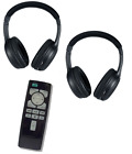 Wireless Headphonds and DVD remote for Nissan Pathfinder  ( 2013 2014 2015)