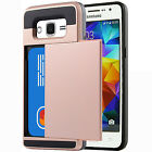 Hybrid Case Wallet Case with Pocket for Samsung Galaxy Core Prime G360