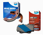 Bendix 4WD Brake Pad and Shoe Set fits TOYOTA HILUX DB186-4WD-BS1492
