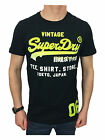 Superdry Mens Shirt Shop Fade Tee T-Shirt in Eclipse Navy