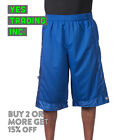 PROCLUB PRO CLUB MEN'S HEAVYWEIGHT MESH SHORTS BASKETBALL MESH SHORTS GYM ACTIVE <br/> **BUY 2 or MORE & GET 15% DISCOUNT** LIMITED PROMOTION