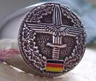 GERMAN ARMY MARINE AIR FORCE RING WWII IRON STEEL SILVER MEDAL CROSS CROIX D61