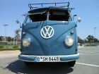 1956+Volkswagen+Bus%2FVanagon+Wolfsburg+Double+Door+Panel+Bus+Transport+Split