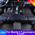 For Mazda 5 7 passengers 3 rows Yes Front+Rear Waterproof Y2R3 Car Floor Mats