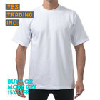 3 PACK PROCLUB PRO CLUB MENS HEAVYWEIGHT T SHIRT PLAIN SHORT SLEEVE COTTON TEE <br/> **BUY 2 or MORE & GET 15% DISCOUNT** LIMITED PROMOTION
