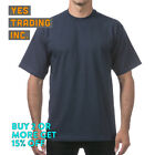 3 PACK PROCLUB PRO CLUB MENS PLAIN T SHIRT HEAVYWEIGHT SHORT SLEEVE COTTON TEE