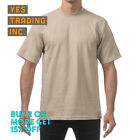 3 PACK PROCLUB PRO CLUB MENS HEAVYWEIGHT T SHIRT PLAIN SHORT SLEEVE COTTON TEE <br/> **BUY 2 or MORE &amp; GET 15% DISCOUNT** LIMITED PROMOTION