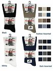 3 Mens No Non Elastic LYCRA® Cotton Rich Loose Wider Top Socks UK 6-11