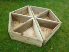 Wooden Planter. Constructed using treated timber. Will not rot away in a year!