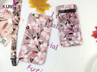 Flower Print Case With Lanyard for iPhone 6/7/Plus Full Body Front & Back