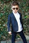 Hot Sale Kids Wedding Groom Tuxedos Boys Children Formal Party Suits Custom Made