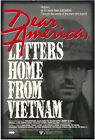 DEAR AMERICA LETTERS FROM VIETNAM MOVIE POSTER Original 27x40 One Sheet
