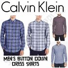Calvin Klein CK Men's Long Sleeve Button Down Shirt - Variety, NWT, 100% Cotton $14.98 USD on eBay