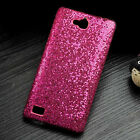 For Huawei Honor 3C Luxury Bling Leather Fibric Coated PC Hard case cover